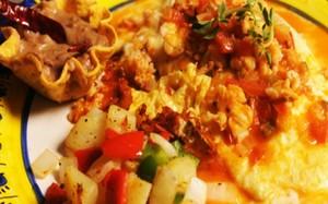 'Receitas de Chuck no México' - Ep. 2 - Omelete de queijo com lagosta