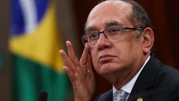 O ministro do STF e presidente do TSE, Gilmar Mendes (Foto: Marcelo Camargo/Agência Brasil)