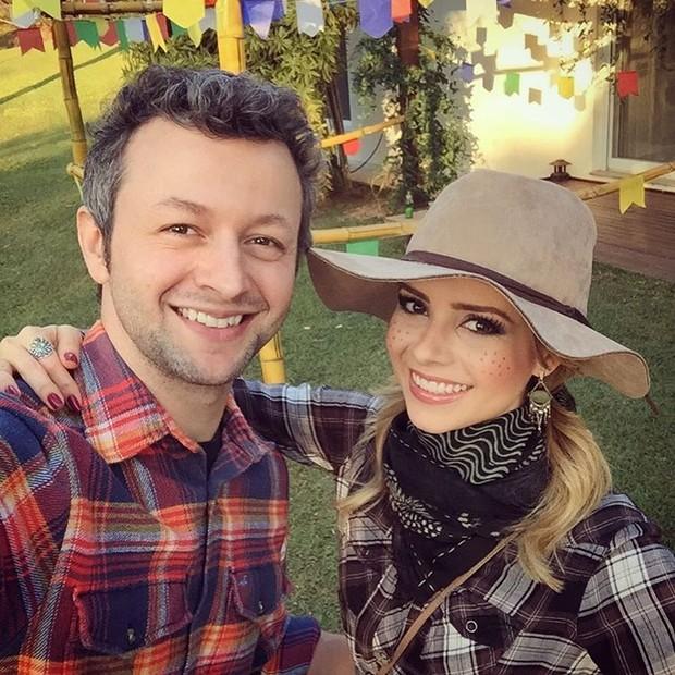 Lucas Lima e Sandy  (Foto: Instagram / Reprodução)