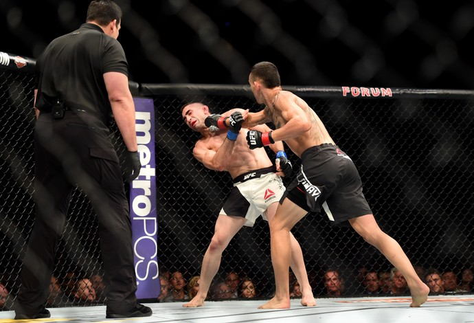 Max Holloway Ricardo Lamas UFC 199 (Foto: Getty Images)