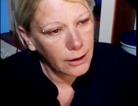 Valdineia Pontes  mãe do menino Brian morto por PM em Ourinhos (Foto:  )