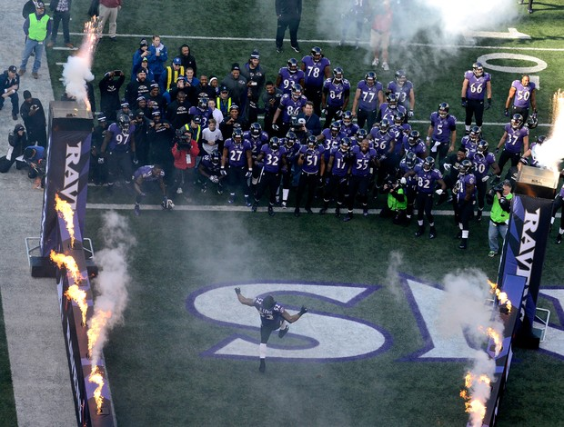 Ray Lewis Baltimore Ravens NFL (Foto: Getty Images)