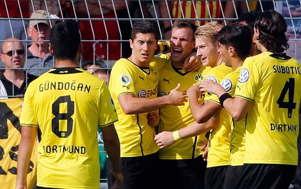 Borussia dortmund x Wilhelmshaven  amistoso (Foto: AP)