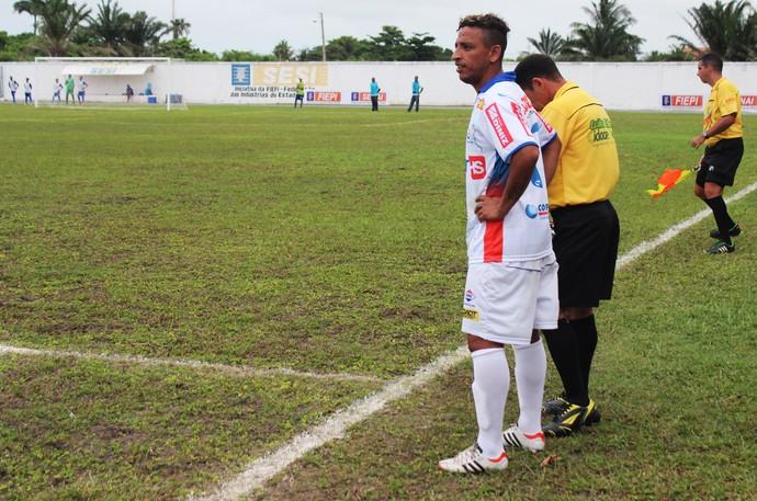 Edson Di, atacante do Piauí (Foto: Josiel Martins )