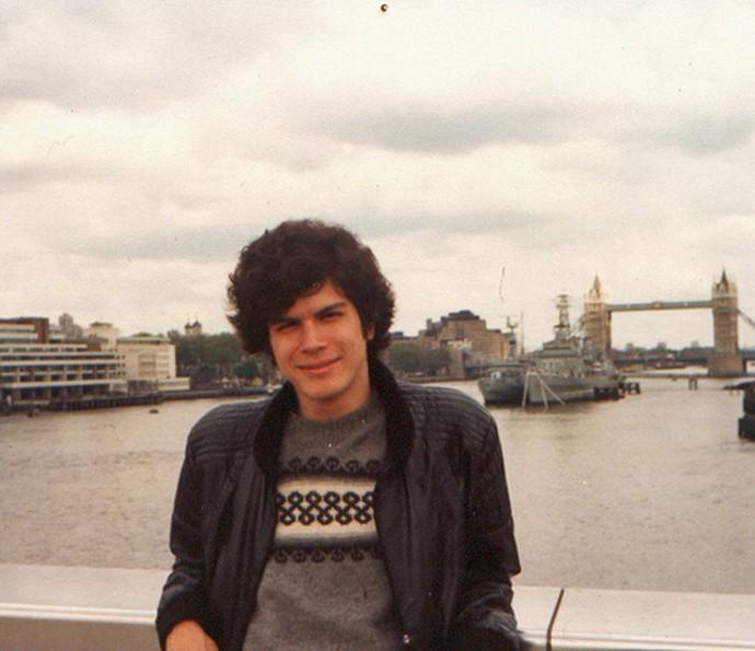 Paulo Ricardo relembra época em que morou em Londres (Foto: Arquivo Pessoal)