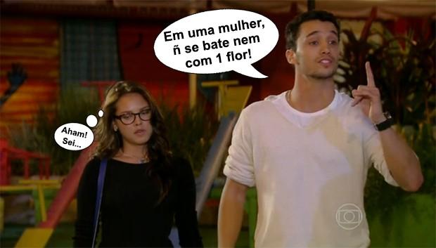 Sal é muito falso mesmo... (Foto: Malhação / TV Globo)