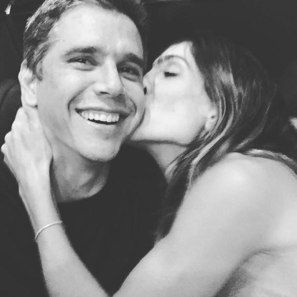 Andrea Santa Rosa Garcia e Marcio Garcia (Foto: Reprodução Instagram)