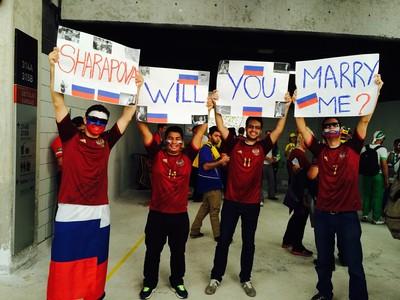 curitibanos casamento sharapova curitiba copa do mundo (Foto: Diego Berlim/Arquivo Pessoal)