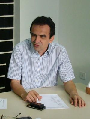 Elizeu Aguiar (Foto: Renan Morais/GLOBOESPORTE.COM)