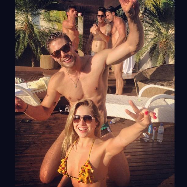 Jonas e Renatinha curtiram juntos (Foto: Instagram/ Reprodução)