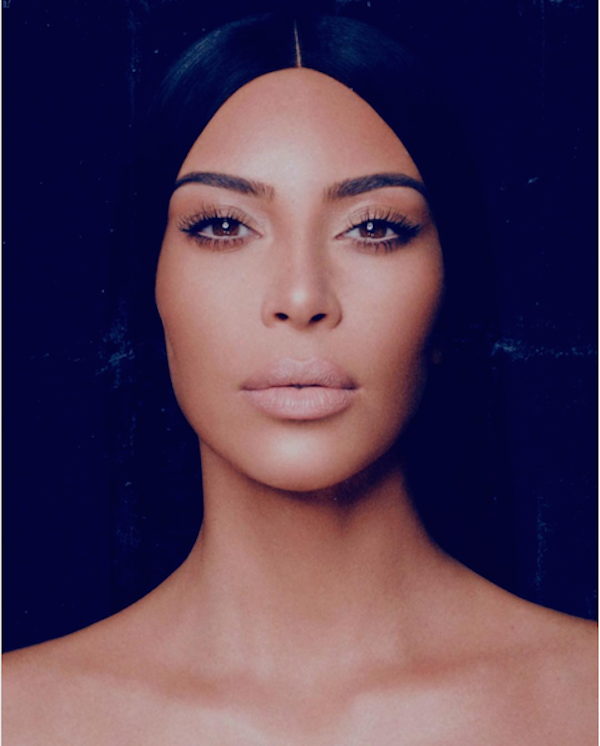 A celebridade Kim Kardashian (Foto: Twitter)
