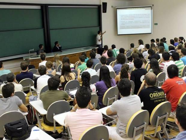 Turma de Fundamentos do Pôquer tem 130 alunos na Unicamp de Limeira (Foto: Divulgação / Unicamp)