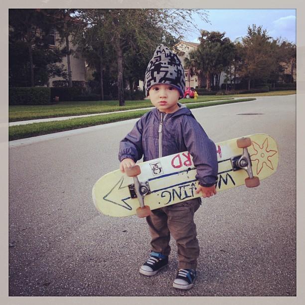 Kauai, filho de Danielle Suzuki (Foto: Reprodução/Instagram)