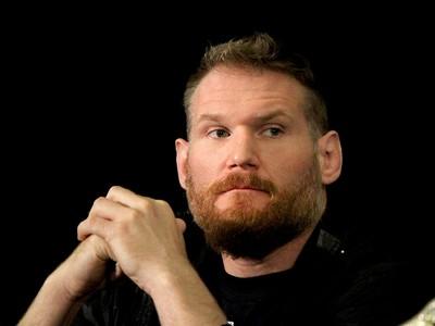 Josh Barnett coletiva UFC Las Vegas (Foto: Evelyn Rodrigues)