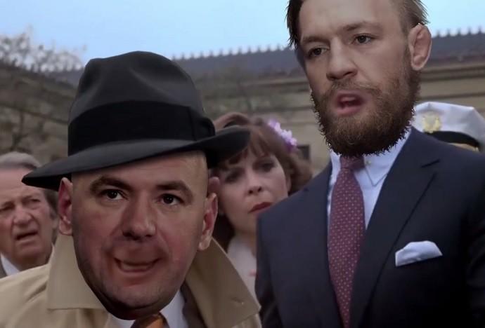 BLOG: Vídeo: confira paródia do filme Rocky 3, estrelando McGregor, Dana e Mayweather