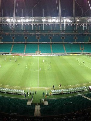 Arena Fonte Nova vazia para Bahia x Luverdense (Foto: Divulgação/Arena Fonte Nova)