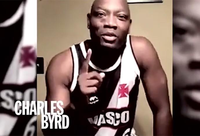 Charles Byrd, basquete vasco (Foto: Reprodução)