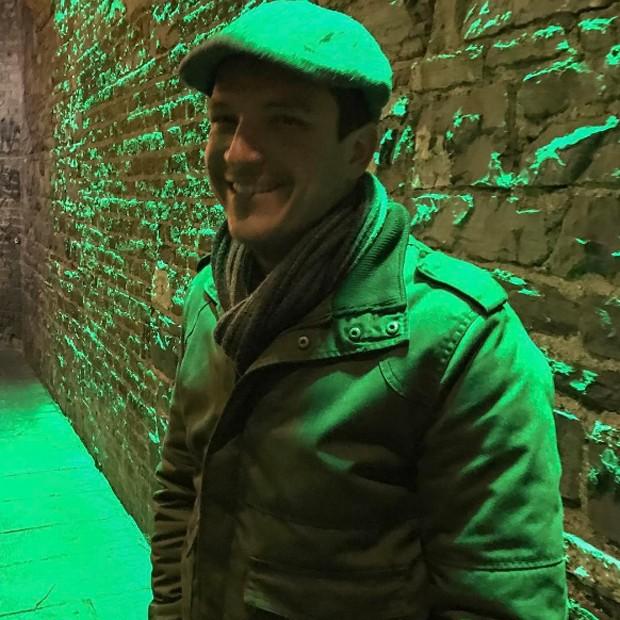 Paulo Nigro em pub na cidade de Dublin, na Irlanda, em janeiro deste ano (Foto: Reprodução/Instagram)