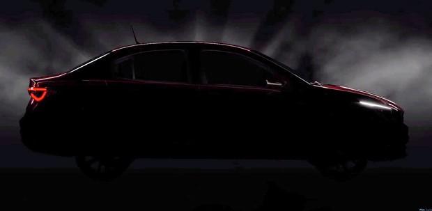 Fiat revela primeiro teaser do sedã Cronos (Foto: Reprodução)