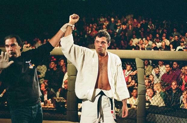 Royce Gracie UFC 1 (Foto: Arquivo Pessoal/Jose Fraguas)