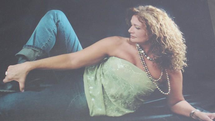 Ieda posa na época em que foi Miss Canoas (Foto: Gshow/Nathália Gomes)