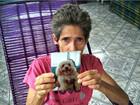 Aposentada procura cadela de 7 anos que fugiu de casa : 'já chorei muito'