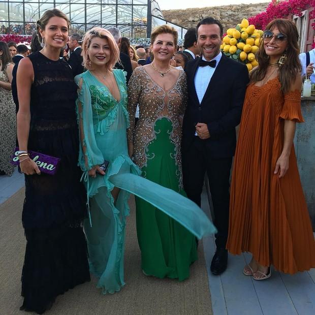 Helena Bordon, Helo Rocha, Matheus Mazzafera  e Sabrina Sato (Foto: Reprodução / Instagram)