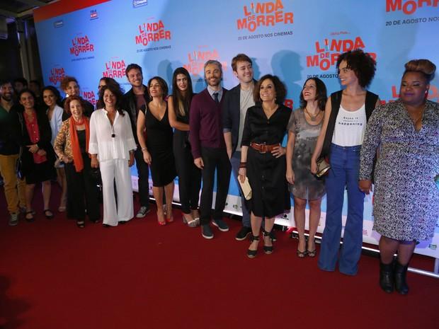 Pré-estreia do filme Linda de Morrer (Foto: Felipe Assumpção / Agnews)