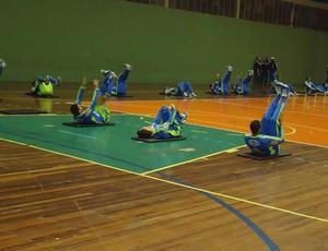 treino Palmeiras  quadra (Foto: Rodrigo Faber / Globoesporte.com)