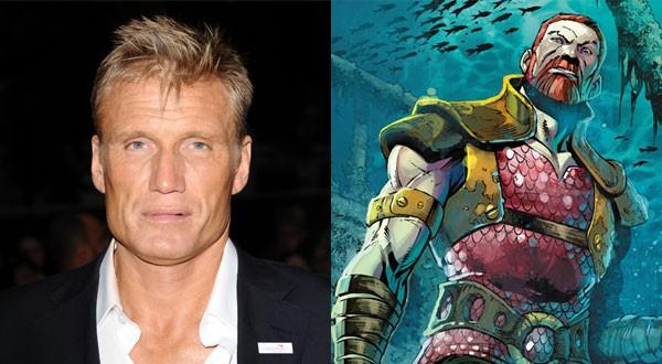 Dolph Lundgren ser Nereus em Aquaman (Foto: Divulgao)