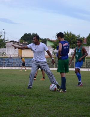 Simônio Veiga, técnico do União Cacoalense (Foto: Magda Oliveira)