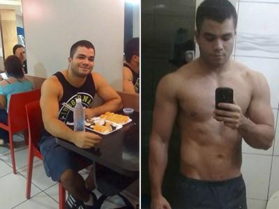 Yuri Furtado, campeão sul-americano de levantamento de peso (Foto: Arquivo Pessoal / Yuri Furtado)