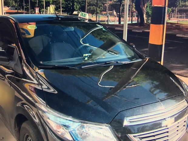 Assalto ocorreu na manhã deste domingo (12), em Presidente Prudente (Foto: Reprodução/TV Fronteira)