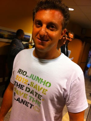 Luciano Hulk participou de debate no Rio+Social (Foto: Darlan Alvarenga/G1)