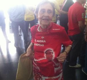 Tia Ruth, eleições do america-rj (Foto: Chandy Teixeira)