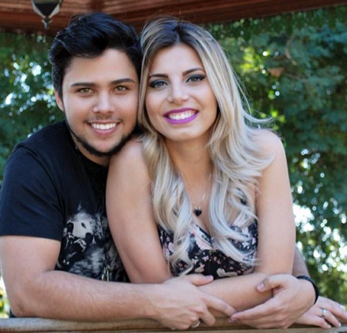 Renato Vianna e Elen Tezner namoram há cerca de dez meses  (Foto: Arquivo Pessoal)
