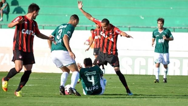 Atlético-PR perde para o Guarani fora (Foto: Site oficial do Atlético-PR)