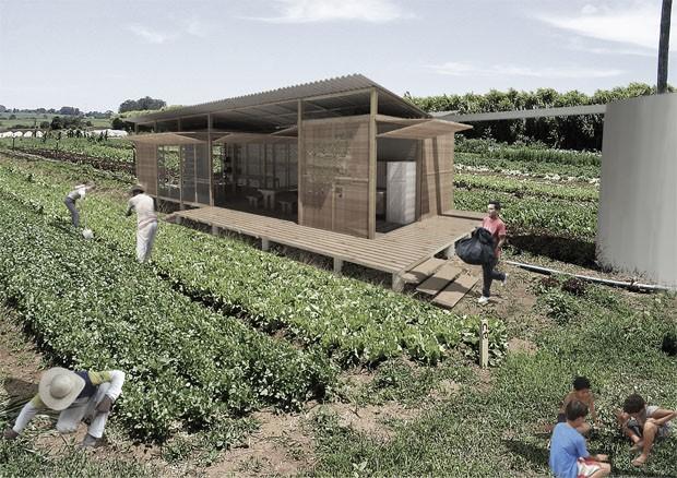 Projeto brasileiro para comunidade autossustentável é premiado na Itália (Foto: Divulgação)