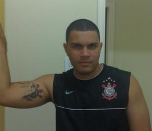 João Paulo Barros Sosa, torcedor do Corinthians (Foto: João Paulo Barros Sosa/Arquivo Pessoal)