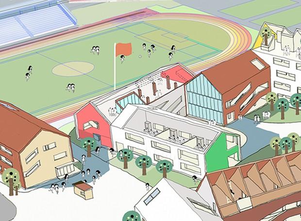 projeto_desenho_escola_criança (Foto: Reprodução / Archdaily)