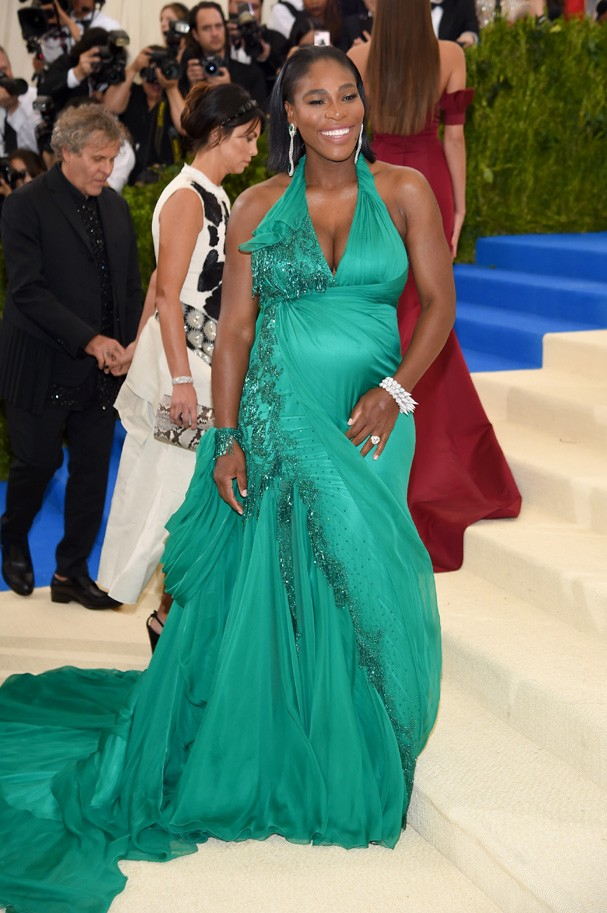 """NEW YORK, NY - MAY 01: Serena Williams attends the """"Rei Kawakubo/Comme des Garcons: Art Of The In-Between"""" Costume Institute Gala at Metropolitan Museum of Art on May 1, 2017 in New York City.  (Photo by Dimitrios Kambouris/Getty Images) (Foto: Getty Images)"""