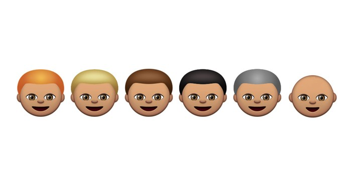 Mudança nos emoji vai permitir mudar cor de cabelo e sexo de símbolos (Foto: Reprodução/Emojipedia)