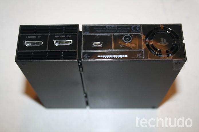 Unidade processadora do PS VR (Foto: Felipe Vinha/TechTudo)