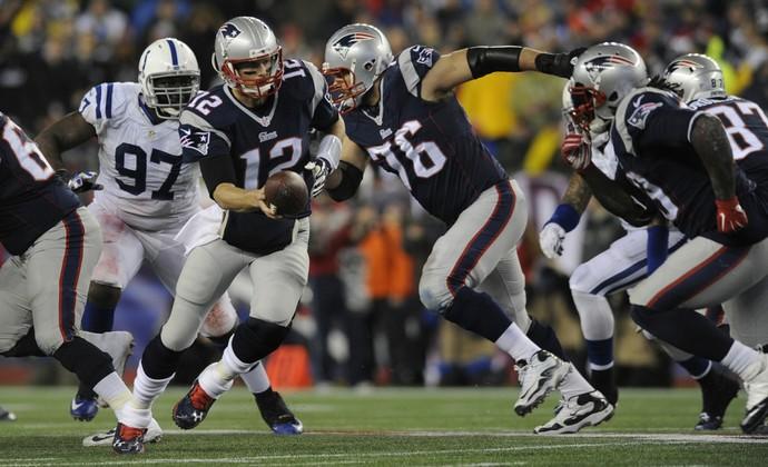 Indianapolis Colts x New England Patriots (Foto: Hartford Courant)