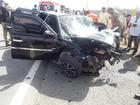 Colisão entre dois carros deixa dois mortos e cinco feridos no Ceará