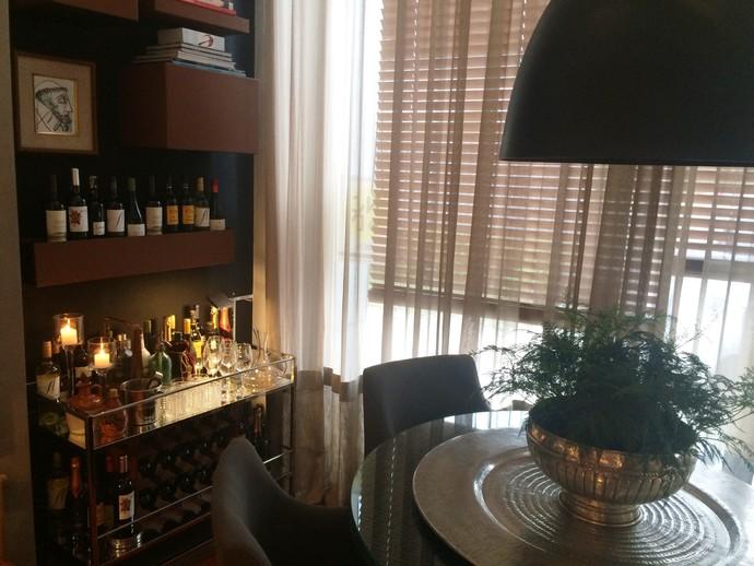 Cantinho para os amantes de vinhos também é dica do Mistura  (Foto: RBS TV/Divulgação )