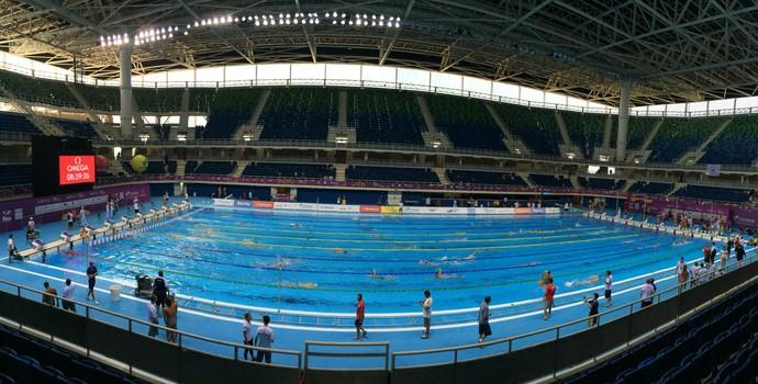 natação piscina centro aquático olímpico (Foto: Fabricio Marques)