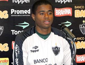 Eron, Atlético Mineiro. (Foto: Fernando Martins / Globoesporte.com)