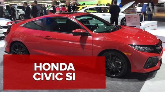 VÍDEO: Honda Civic Si aparece em forma de conceito em Detroit