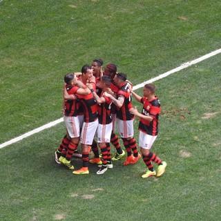 Leandro Damião - Flamengo x Grêmio (Foto: Fred Gomes)